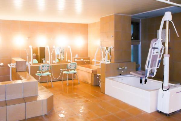 きたさかえ館-風呂場