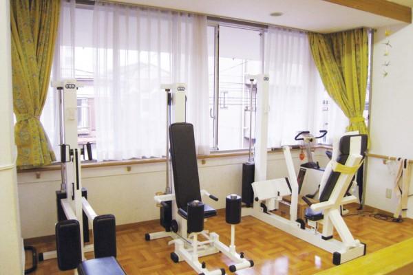 きたさかえ館-機能訓練スペース