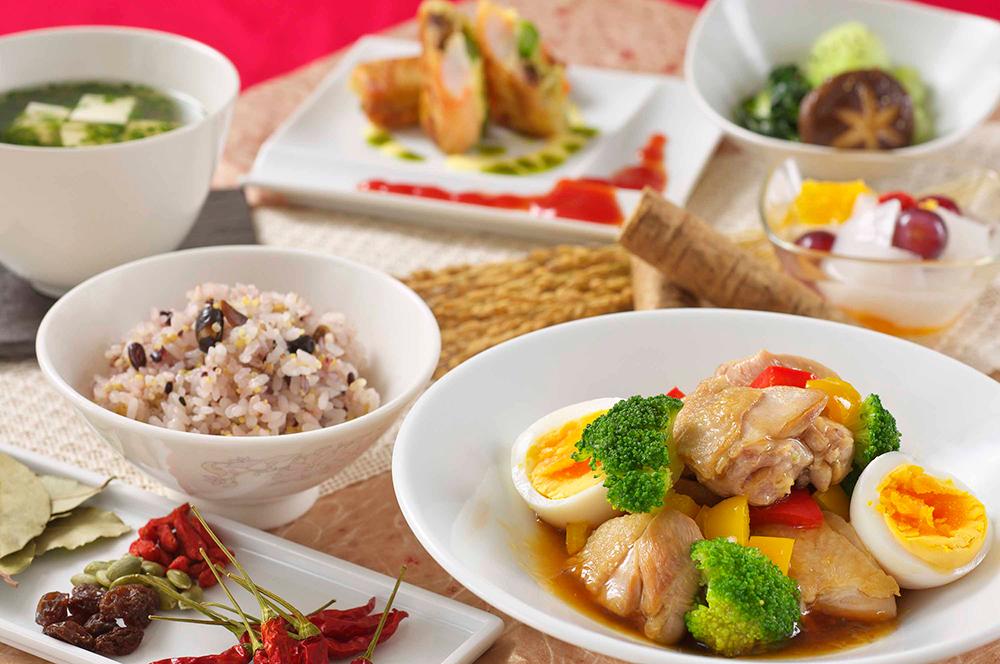 食事-薬膳料理イメージ