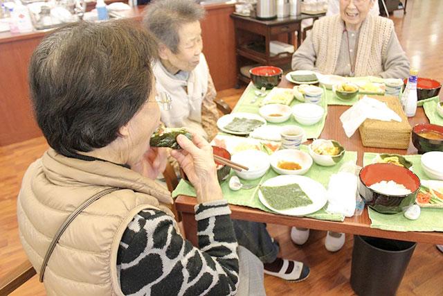 クッキングデイ手巻き寿司