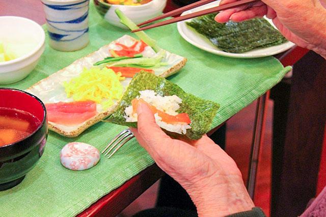 クッキンデイ手巻き寿司