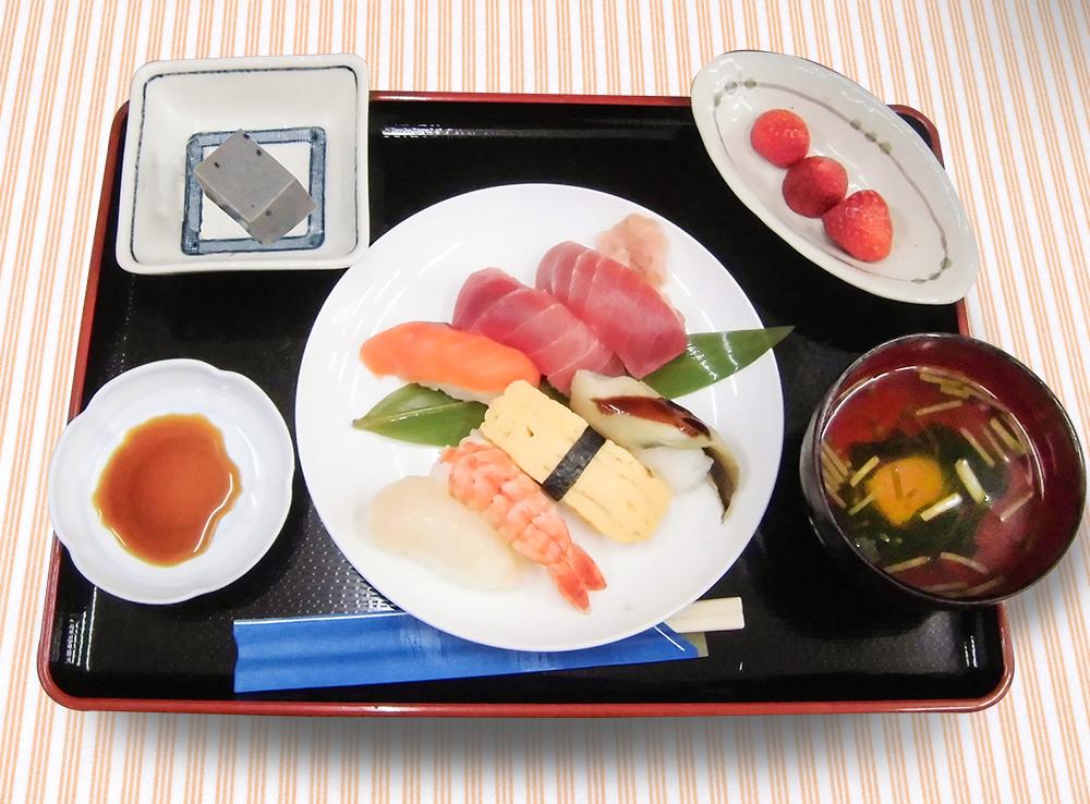 浦安きたさかえ館-握り寿司イベント