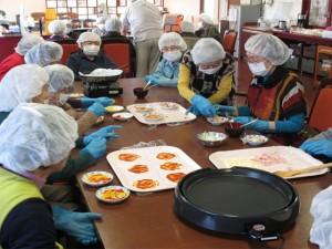 癒しのデイサービス八千代台 ピザ作り