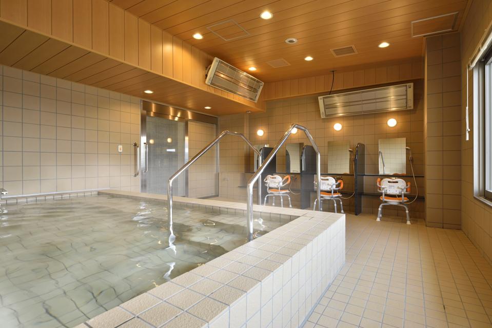 住宅型有料老人ホーム コンシェールささしま 天然温泉