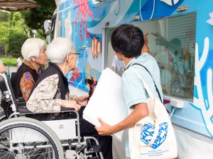 癒しのデイサービス江東 移動水族館